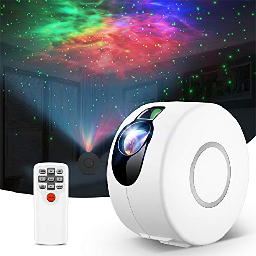 Star Projector,Night Light Projector with LED Nebula Cloud,Galaxy Projector with Remote Control for Kids Baby Adults Bedroom/Party/Game Rooms/Home Theatre/and Night Light Ambience
