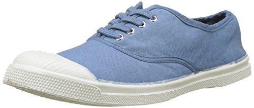 Bensimon Tennis Lacet Femme, Zapatillas Mujer, Azul (Denim), 39 Eu