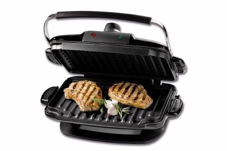 George Foreman G5 Multi Küchengrill 5 in 1 silber