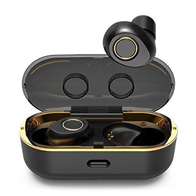 Lykoug True Wireless Earbuds, Bluetooth 5.0 Headphones, TWS Earphones