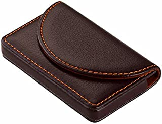 Cafeely Fashion Men PU Magnetic Attractive Box Cover Credit Business Multi Card Case Wallet, Credit Card Holder Protector Credit Card Wallet,For Trekking,Sports,Work,Coffee