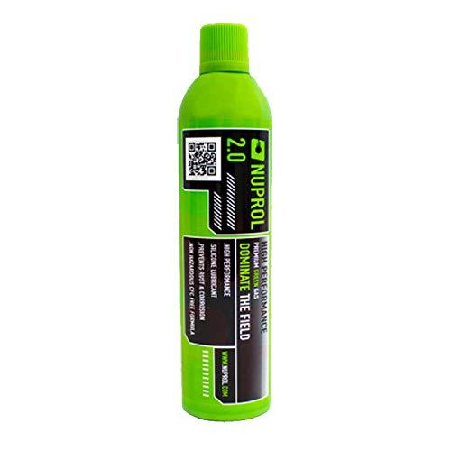Nuprol Gas Airsoft Premium Green 2.0-300 gr. 600 ml.
