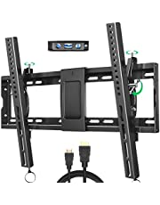 Tilting 32-86 inch TV Wall Mount for Most Plasma LCD LED Flat Screen TVs and Monitors, Max VESA 600x400mm Supports Wall Mount TV up to 165 lbs by BLUE STONE