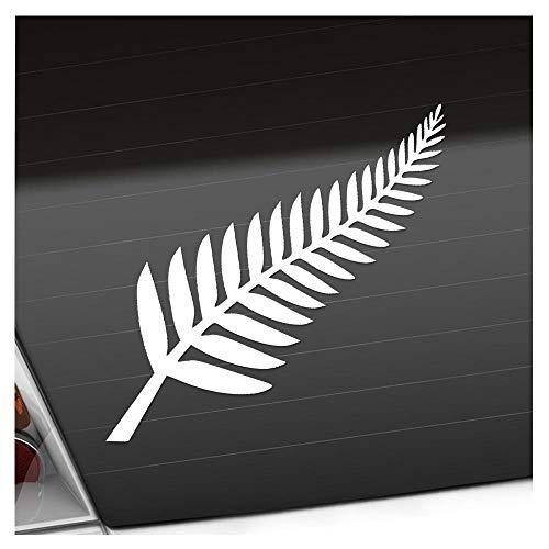 Silver Fern / Neuseeland / Kiwis 14 x 10 cm IN 15 FARBEN - Neon + Chrom! Sticker Aufkleber