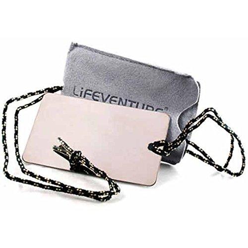 Lifeventure 9380 Travel Mirror Unisex-Adult, Silver