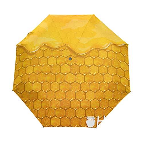 Jacque Dusk Paraguas-Panales Flowing Travel Umbrella Auto Abrir Cerrar A Prueba De Viento Impermeable Paraguas Plegable Toldo Compacto
