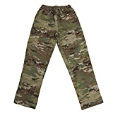 Tactical Surgical Scrub Pants, Nylon Cotton Ripstop, Cargo Pockets, Made in USA (OCP Scorpion, X-Large)