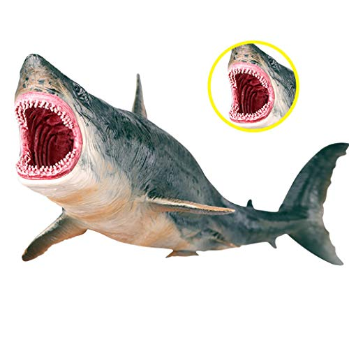 Sea Life Megalodon Modell Action-Figur PVC Ozean Tier Educational Learning-Spielzeug für Kind-Geschenk