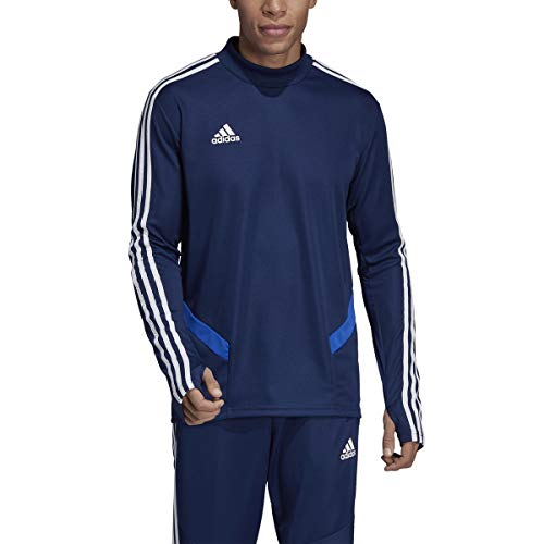 adidas Tiro 19 Training Top - Men's Soccer M Dark Blue/Bold...