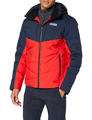 Colmar Herren Jacke-1064 Jacke, Bright Red-Blue Blac, 54