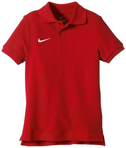 Nike Team Core T-Shirt Mixte Enfant, University Red/White, FR : S (Taille Fabricant : S)