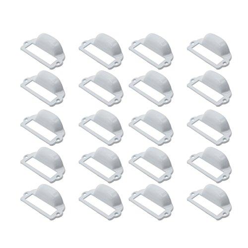 Saim EINWEG Muschelgriff antike schmiedeeisernen tuer Griffmuscheln mit muscheln kabinett schubladen weiß 20 Stück