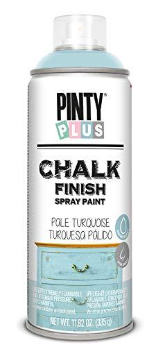 PINTYPLUS CHALK 796 Pintura Spray a la Tiza 520cc Turquesa Palido CK796, Pale Turquoise, Estándar