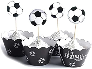 Wedding & Anniversary Bands Word Cup Cupcake Topper Paper Sports Series Cake Insertion Football Cake Basketball Theme Cake Decoration Flag Be Novel In Design