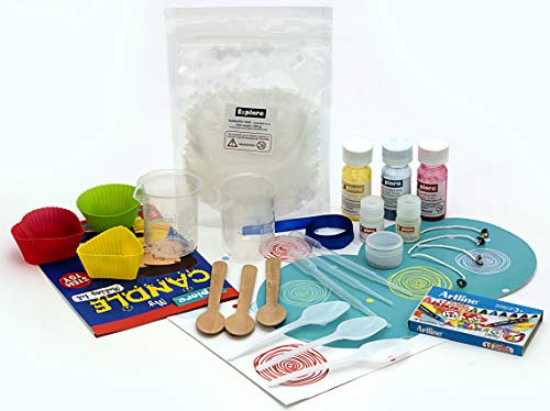 Explore.. | stem Learner | My Candle Making lab (Learning & Educational DIY Activity Toy kit, for Ages 6+ of Boys and Girls)- Multi Color, Medium (13017-FBA)