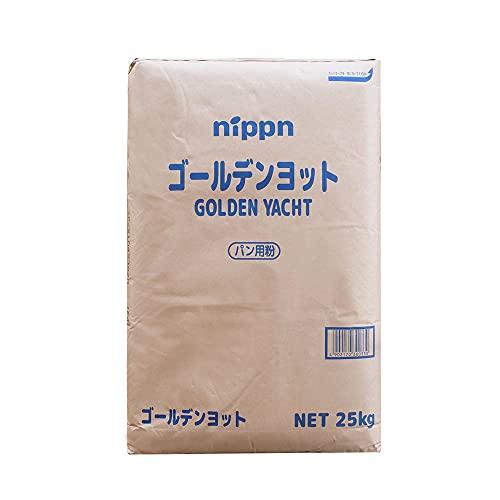 【mamapan】最強力粉 ゴールデンヨット パン用小麦粉 ニップン 業務用 25kg__【沖縄は別途追加送料必要】