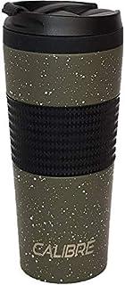 KARBON (Calibre) de Happy Earth (400 ml, taza de viaje de acero inoxidable de alta calidad de doble pared, con aislamiento al vacío, tapa a prueba de derrames, sin BPA)