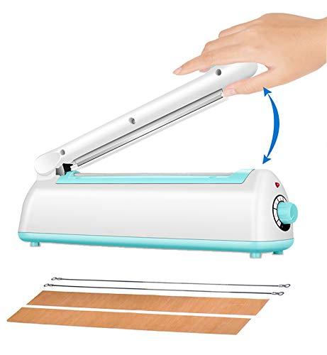 BengMxj Impulse Sealer 8inch Plastic Bags Heat Sealer Bag Sealer For Sealing Packaging Self-Sealing Polyester Film Bag Heat Sealing And...
