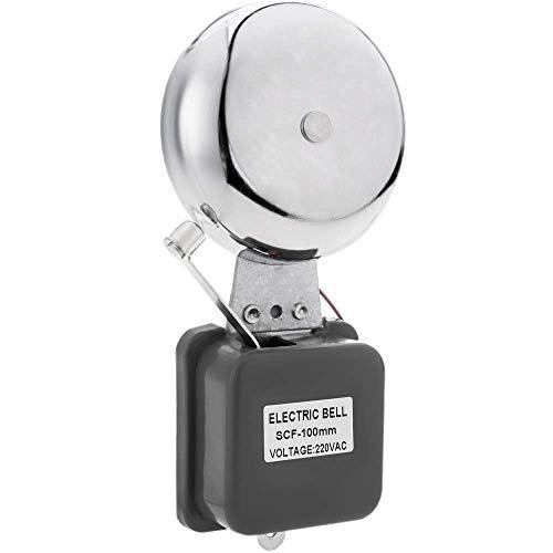 BeMatik - Timbre eléctrico de Campana y Martillo metálico 85 dB