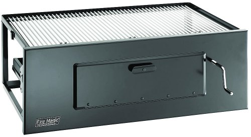 Legacy 3334 Lift-A-Fire Charcoal Grill Slide-In