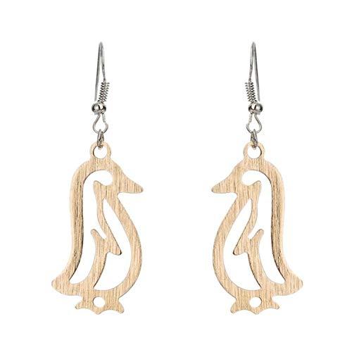 BLINGBRY mode dames oorhaak oorbellen dames sieraden hanger geschenk letter lang meisje J grote oorbellen