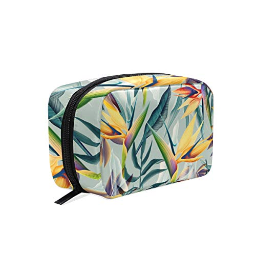 Trousse de maquillage Nature Plant Tropical Flower Cosmetic Pouch Clutch