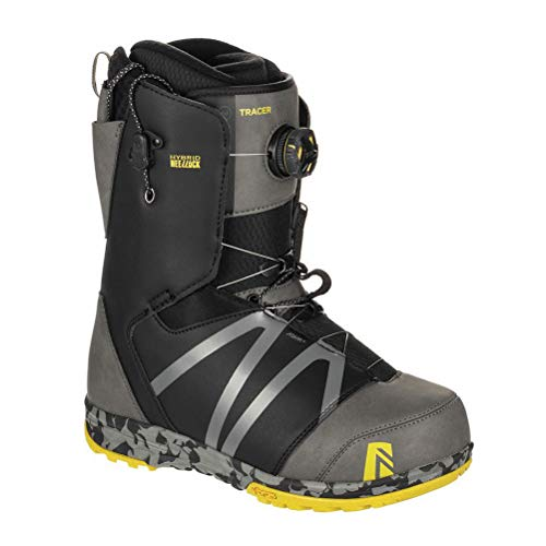 Nidecker - Boots De Snowboard Tracer H-Lock Homme Gris - Homme - Taille 42 - Gris