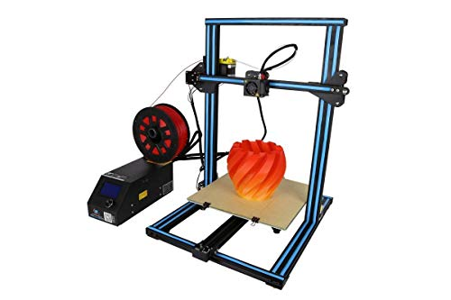Creality CR-10S Prusa I3 FDM 3D Printer Upgraded Dual Z Axis Leading Screws  and Resume Printing 300x300x400mm for Hobbyists, Designers and Home Users (Blue)