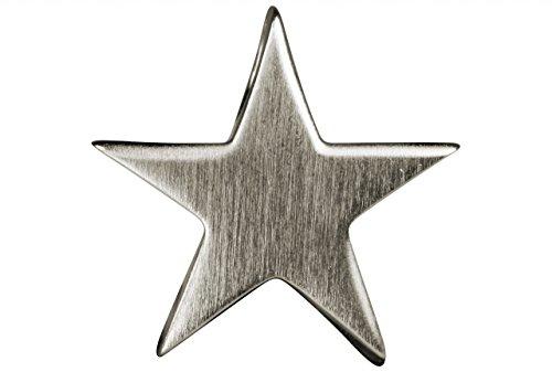 SILBERMOOS Damen Anhänger Stern Sternchen klein massiv matt glänzend 925 Sterling Silber Star