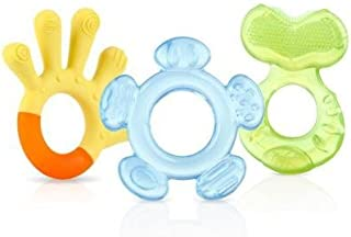Nuby 3 Step Teether Set, BPA - Neutral - Assorted Colors