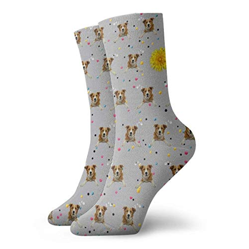 Warm-Breeze Dog Photo Compression Socks Unisex Socks Fun Casual Crew Socks Thin Socks Short Ankle For Outdoor Athletic Moisture Wicking