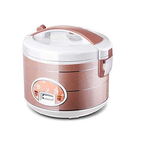 Rice Cooker Mini, Old House Rice Cooker Rice Cooker Petit Mijoteuse 1-2-3 Personnes 4 L Électrique Autocuiseur-d'or 2020 Arroceras