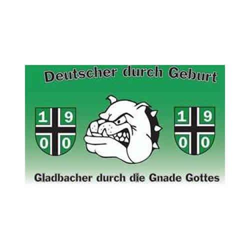 Mönchengladbach - Bulldogge Fahne (F52)