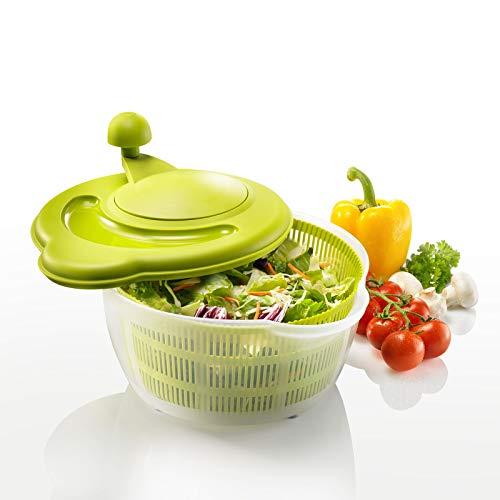 Westmark Salatschleuder Fortuna, Kunststoff, Apfelgrün/Transparent