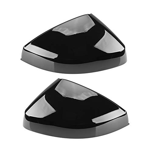 ZGYCYDLX Autopartes 2 UNIDS Glossy Black STE STEPE Espejo Covers for Audi A3 S3 8V RS3 2013 2014 2015 2016 2018 2017 2017 2019 Black Reagreview Revisor