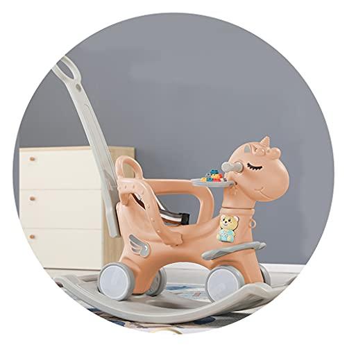 록킹마 어린이 목마 다기능 이중사용 장난감 생일 선물 야외 장난감