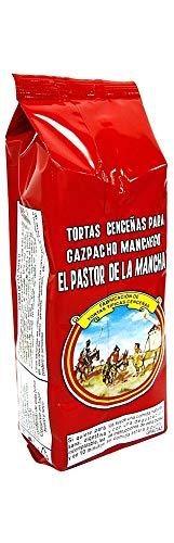 Caja completa de tortas cenceñas (40 Unidades), magníficas para elaborar gazpacho manchego o de mero.