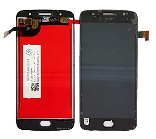 Tela Display Lcd Frontal Touch Motorola Moto G5s Xt1792 Xt1793 Xt1794 Preto Primeira Linha