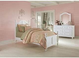 NE Kids Lake House Payton Twin Arch Bed in White