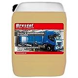 Brestol, detergente alcalino per camion e teloni, 10 litri, detergente per camion e plastica, detergente spray HD, detergente per tende, concentrato