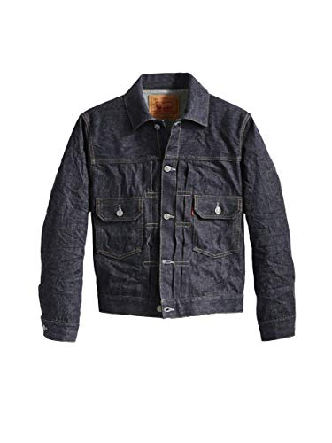 Levi ̀ Vintage Clothing Giacca Jeans 1953 Type II 70507-0056 Rigid O5371 Blu XL
