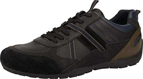 Geox Hombre Zapatos con Cordones RAVEX,de Caballero Zapatos Deportivos,Calzado bajo,Calzado de Calle,Deportivo,Removable...