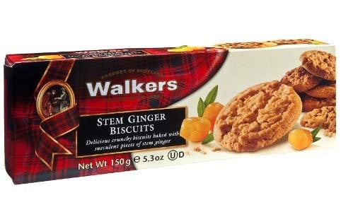 Walkers Biscotti Scozzesi allo Zenzero - 1 x 150 Grammi