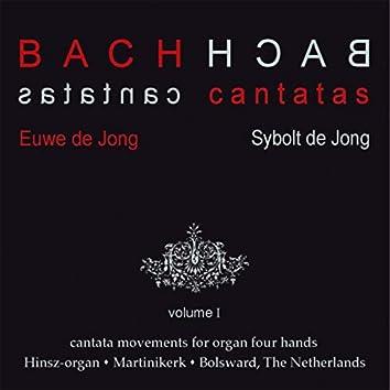 Bach Cantatas, Vol. 1: Cantata Movements for Organ Four Hands