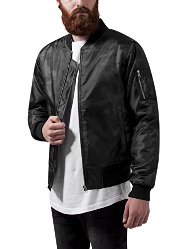 Urban Classics Camo Basic Bomber Jacket Herenjas