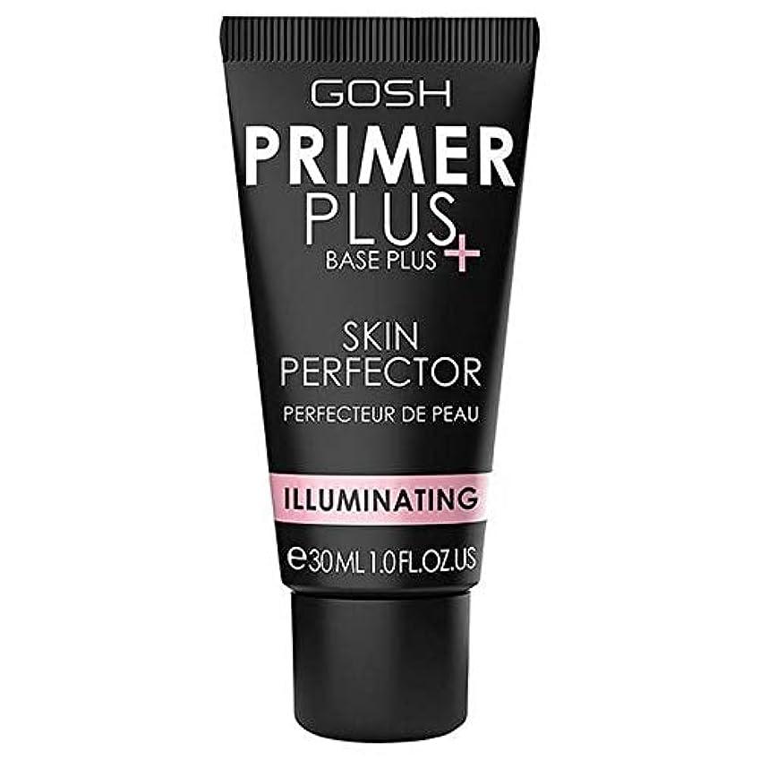 リスナー消防士コンテンツ[GOSH ] おやっプライマープラス照明皮膚完璧なプライマー30ミリリットル - Gosh Primer Plus Illuminating Skin Perfect Primer 30ml [並行輸入品]