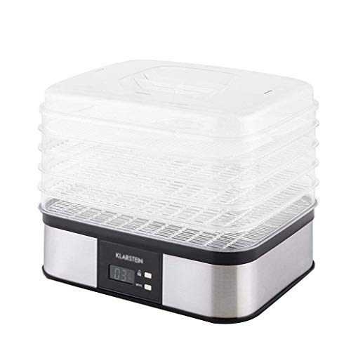 Best Deals! Qin Food Dehydrator with Temperature Controller Fruit Dryer Machine, Food Dryer, Perfect...
