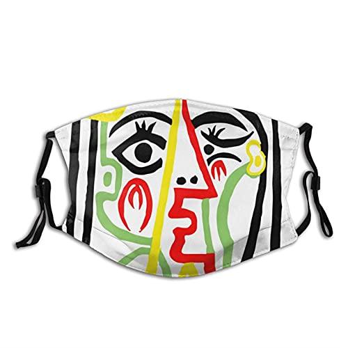 P-ab-lo P-icas-so, J-acq-ueline con sombrero de paja 1962,-cartel ilustraciones impresión filtro máscara de la diadema del esquí 20cmx15cm(M)