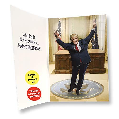 Dancing Donald MOTION & SOUND Birthday Card