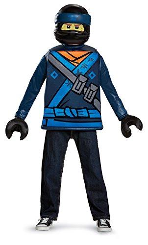 Generique - Disfraz Jay Ninjago Lego® niño 7-8 años (124-136 cm)